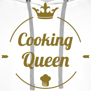 Cooking Queen Hoodies - Men's Premium Hoodie