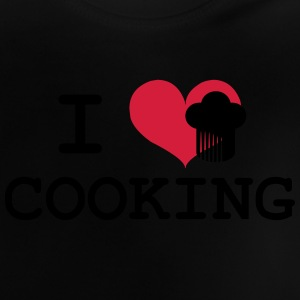 I Love Cooking Skjorter - Baby-T-skjorte