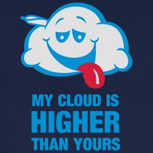 My cloud is higher than yours T-Shirts - Baseball Cap