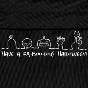 Have a fa-boo-lous Halloween T-Shirts - Kids' Backpack