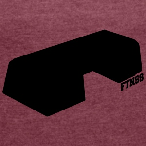 Ftnss Accessories - Women's T-shirt with rolled up sleeves