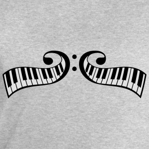 Conception de touches piano piano clef Tee shirts - Sweat-shirt Homme Stanley & Stella