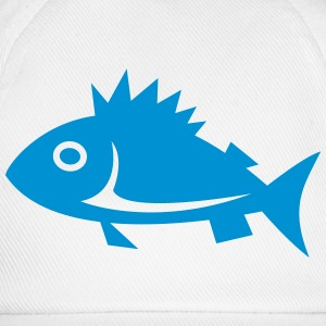 Fish, fishing, lake, sea, water sport T-Shirts - Baseball Cap