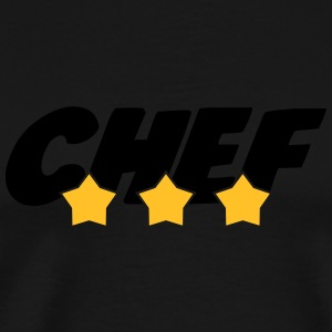 Chef - Cuisine - Patron - Boss - Cooking - Food Kopper & tilbehør - Premium T-skjorte for menn
