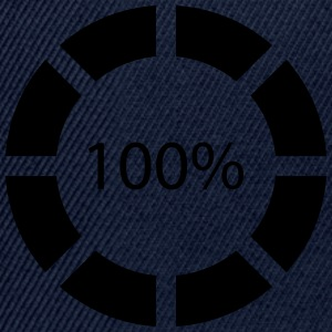 Loading bar, Preload, Bar, load, computer, !00% T-shirts - Snapback Cap