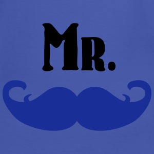 Mr. Mustache Bags & Backpacks - Men's Ringer Shirt