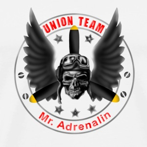 Union Team Mr. Adrenalin - Männer Premium T-Shirt