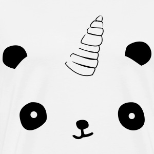 Pandicorn_Eyes Hoodies & Sweatshirts - Men's Premium T-Shirt