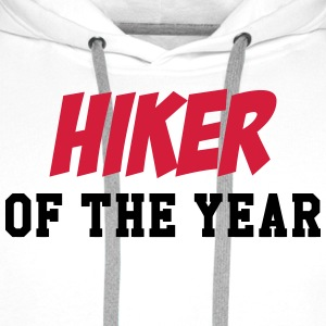 Hiker of the Year ! T-shirts - Mannen Premium hoodie
