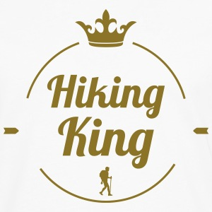Hiking King T-shirts - Långärmad premium-T-shirt herr