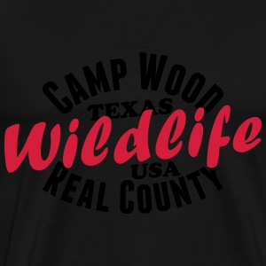 Camp Wood Wildlife Pullover & Hoodies - Männer Premium T-Shirt