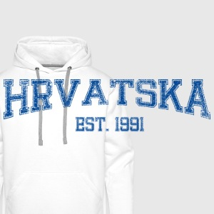 HRVATSKA-1991-blue.png Bags & Backpacks - Men's Premium Hoodie