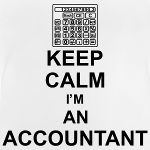 keep_calm_i'm_an_accountant_g1 Tee shirts - T-shirt Bébé