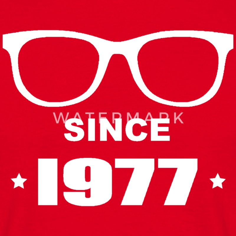 Geek since 1977 Tee shirts - Herre-T-shirt