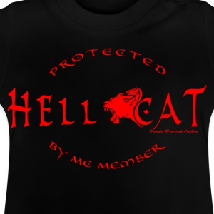 Girl Protected by MC RED T-Shirts - Baby T-Shirt