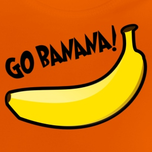 Funny The Simpsons quote: Go banana! Shirts - Baby T-Shirt