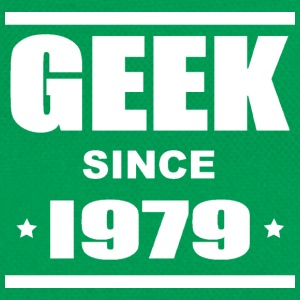 Geek since 1979 Tee shirts - Retro Tasche