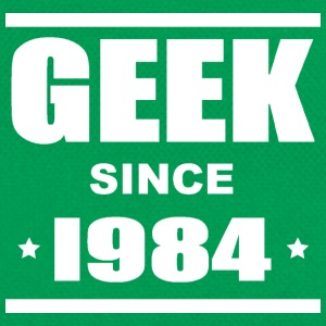 Geek since 1984 Tee shirts - Retroväska