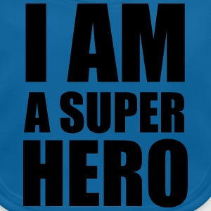 i_am_a_super_hero Tee shirts - Bavoir bio Bébé