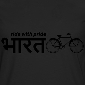 India: Ride with Pride Bike T-Shirts - Men's Premium Longsleeve Shirt