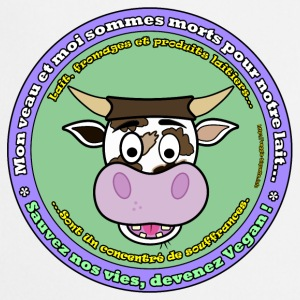 Vache à lait Badges - Tablier de cuisine