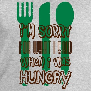 I'm sorry for what I said when I was hungry Manches longues - Sweat-shirt Homme Stanley & Stella