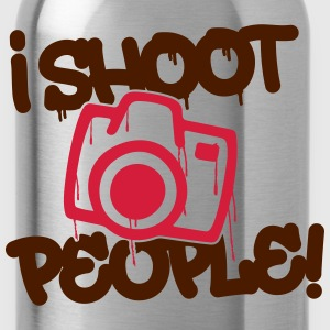 I shoot people - Photography Sudaderas - Cantimplora