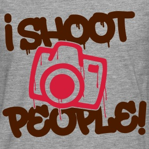 I shoot people - Photography Sudaderas - Camiseta de manga larga premium hombre