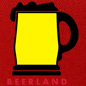 beerland_vec_3 fr Tee shirts - Casquette snapback