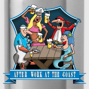 party_at_the_coast_a T-Shirts - Trinkflasche