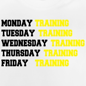 Training week Tee shirts - T-shirt Bébé