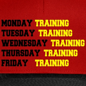 Training week T-shirts - Snapback cap