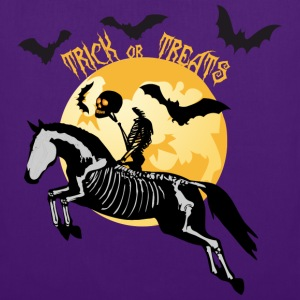 Trick or Treats - Halloween Pferd T-Shirts - Stoffbeutel