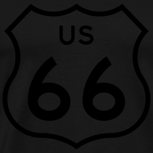 Route 66 Hoodies & Sweatshirts - Men's Premium T-Shirt