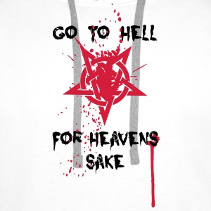 Go to Hell T-Shirts - Männer Premium Hoodie