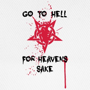 Go to Hell T-Shirts - Baseballkappe
