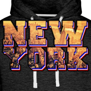 new york Tee shirts - Sweat-shirt à capuche Premium pour hommes