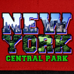 new york central park Tee shirts - Casquette snapback
