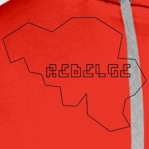 Rebelge two Tee shirts - Sweat-shirt à capuche Premium pour hommes