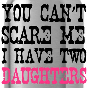 I have 2 Daughters T-Shirts - Trinkflasche