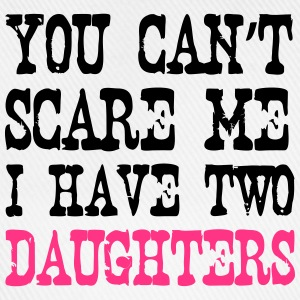 I have 2 Daughters T-Shirts - Baseballkappe