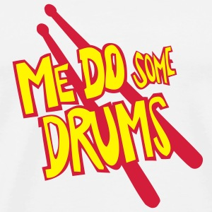 me do some drums mousepad - Männer Premium T-Shirt