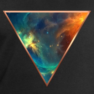 Cosmos, universe, space, galactic triangle T-Shirts - Men's Sweatshirt by Stanley & Stella