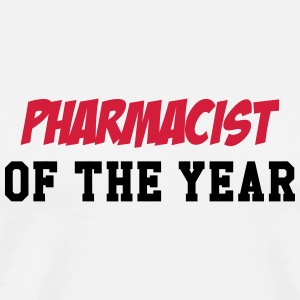 Pharmacist of the year ! Muggar & tillbehör - Premium-T-shirt herr