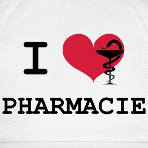 I Love Pharmacie Tee shirts - Casquette classique