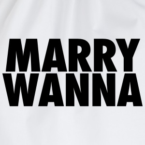 Marrywanna Hoodies & Sweatshirts - Drawstring Bag