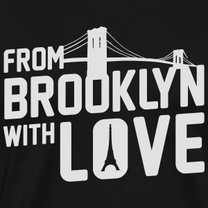 From Brooklyn with Love - Männer Premium T-Shirt