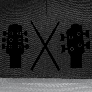 Guitar, Bass and Drums T-Shirts - Snapback Cap