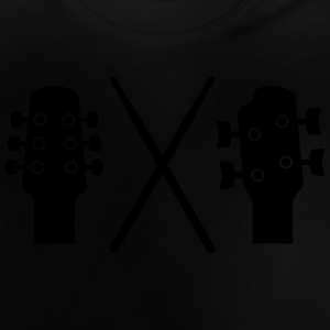 Guitar, Bass and Drums T-shirts - Baby T-shirt