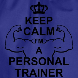 keep_calm_i'm_a_personal_trainer_g1 Shirts - Gymtas